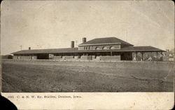 C. & N. W. Ry. Station