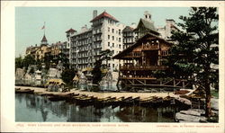 Boat Landing and Main Entrance, Lake Mohonk House