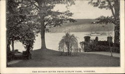 The Hudson River from Ludlow Park