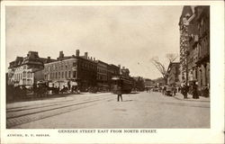 Genesee Street East from North Street