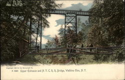 Upper Entrance and N. Y. C. R. R. Bridge