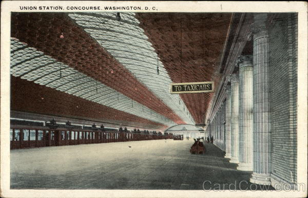 Union Station, Concourse Washington District of Columbia