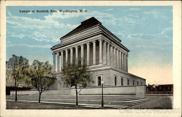 Temple of Scottish Rite Washington District of Columbia