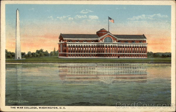 The War College Washington District of Columbia