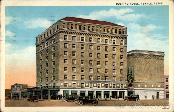 Doering Hotel Temple Texas