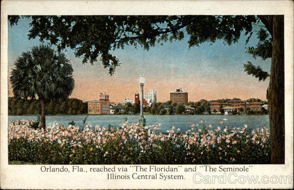 Orlando, Fla., Reached Via The Floridian and The Seminole Florida