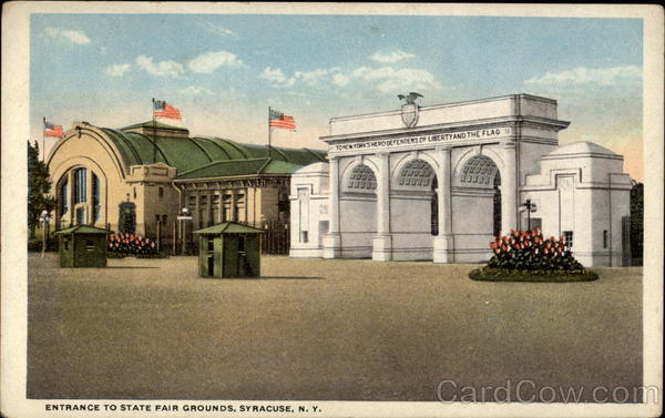 Entrance to State Fair Grounds Syracuse New York