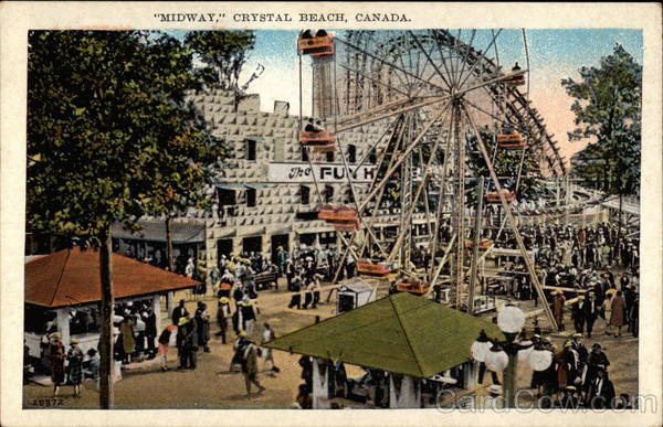 MIdway Crystal Beach Canada Ontario Amusement Parks