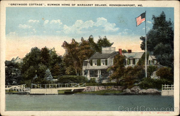 Greywood Cottage, Summer Home of Margaret Deland Kennebunkport Maine