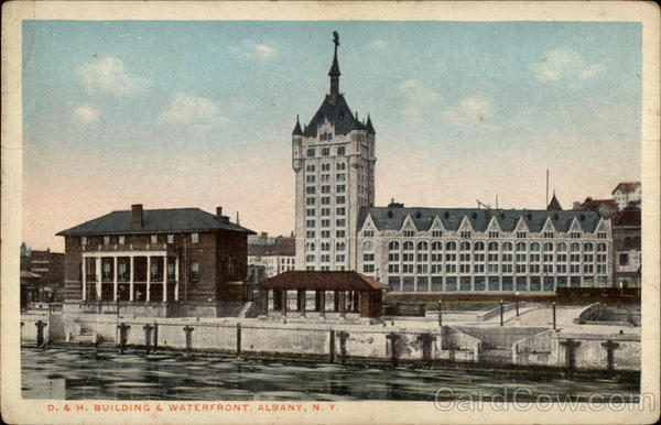 D. & H. Building & Waterfront Albany New York