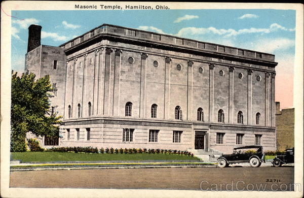 Masonic Temple Hamilton Ohio Freemasonry