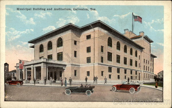 Municipal Building and Auditorium Galveston Texas