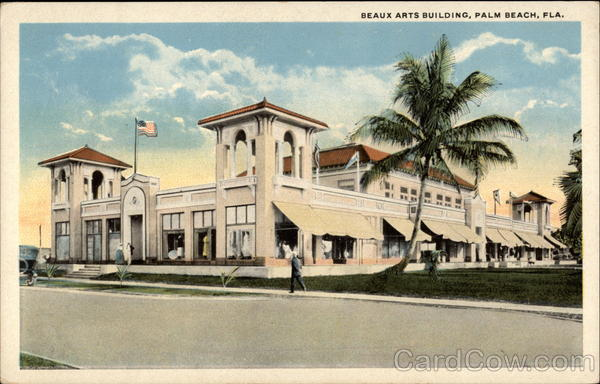 Beaux Arts Building Palm Beach Florida