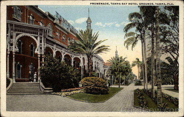 Promenade, Tampa Bay Hotel Grounds Florida