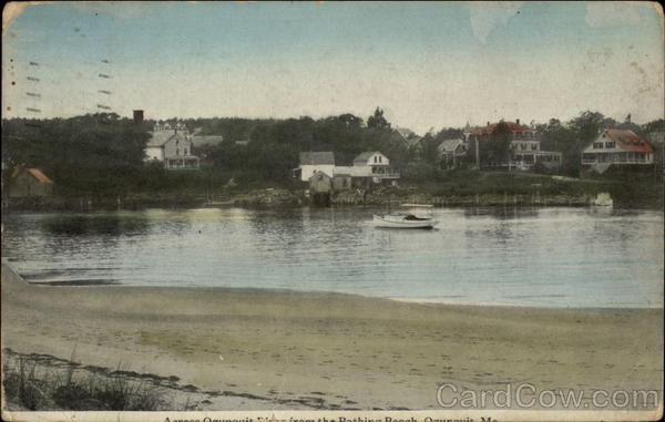 Bathing Beach Ogunquit Maine