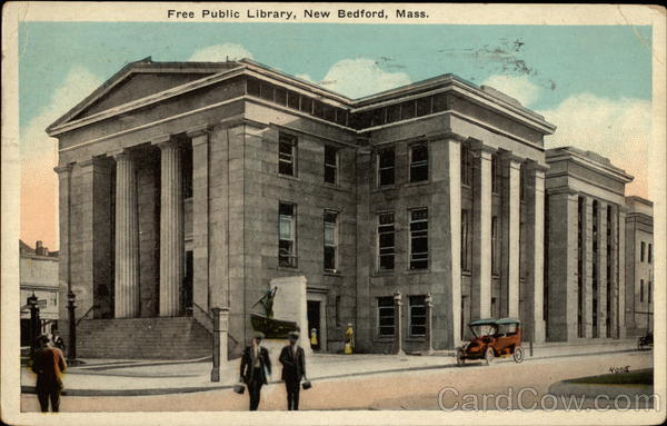 Free Public Library New Bedford Massachusetts