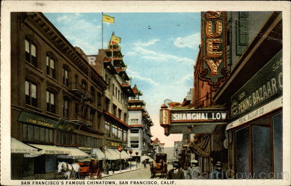 San Francisco's Famous Chinatown California