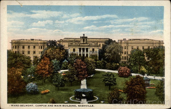 Ward-Belmont, Campus and Main Building Nashville Tennessee
