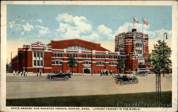 State Armory for Mounted Troops Boston Massachusetts