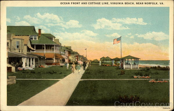 Ocean Front and Cottage LIne, Virginia Beach Norfolk