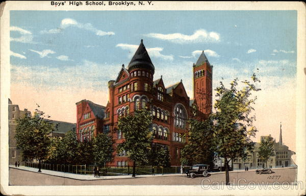 Boys' High School, Brooklyn New York