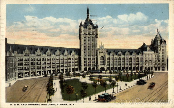 D. & H. Journal Building Albany New York