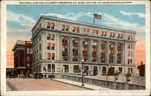 National Life And Accident Insurance Co Bldg 7th Ave At