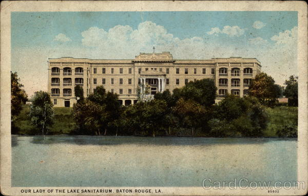 Our Lady of the Lake Sanitarium, Baton Rouge LA Louisiana
