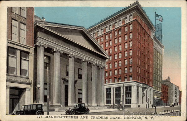 Manufacturers and Traders Bank Buffalo New York