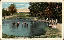 Wading Pool in Deshong Memorial Park