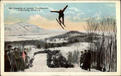Ski Jumping at Annual Tournament