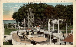 Attractions in the Dominion Park