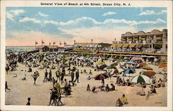 General View of Beach at 4th Street