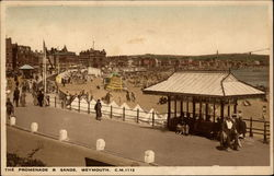 The Promenade & Sands Postcard