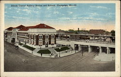 Illinois Central Railway Station and Subway