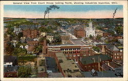 General View of Court House looking North, showing Industries