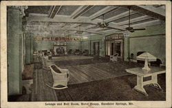 Lounge and Ball Room, Hotel Snapp