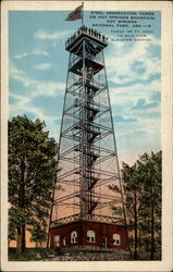 Steel Observation Tower on Hot Springs Mountain, Hot Springs National Park