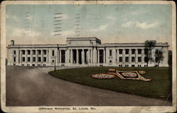 Jefferson Memorial Postcard