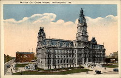 Marion Co. Court House Postcard