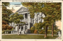 The Chicago Academy of Science at Lincoln Park Postcard