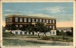 State Training School for Girls Postcard