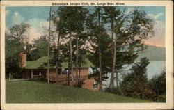 Adirondack Lodge Club, Mt. Lodge Boat House
