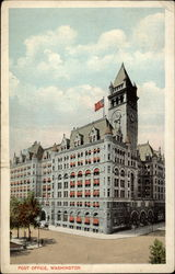 Post Office on Pennsylvania Avenue Postcard