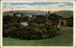 Bird's Eye View of Athens State Hospital