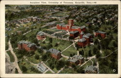 Aeroplane View, University of Tennessee