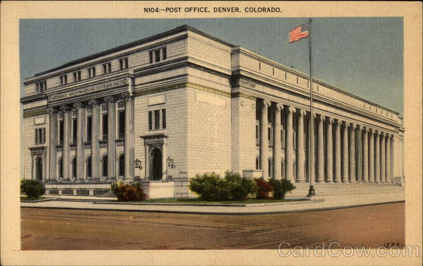 Post Office Denver Colorado