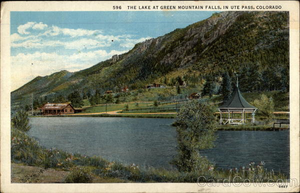Lake at Green Mountain Falls Ute Colorado