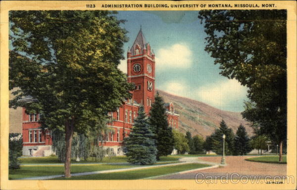 Administration Building, University of Montana Missoula