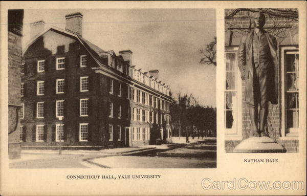 Connecticut Hall, Yale University New Haven